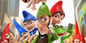 Sherlock Gnomes, la comedia animada que busca a los gnomos desaparecidos