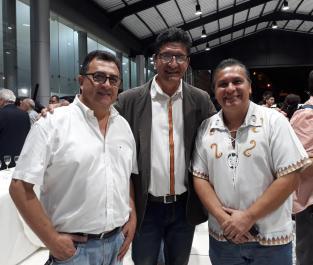 Widen Abastoflor, Hugo Salmon y Nino Gandarilla