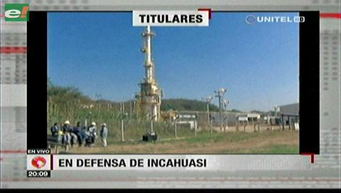 Video titulares de noticias de TV – Bolivia, noche del miércoles 2 de mayo de 2018