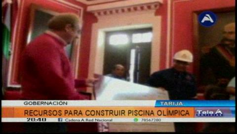 Tarija: Gobernación anuncia la reactivación de la piscina olímpica tras asegurar los recursos