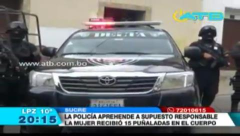 Autoridad municipal es sospechoso de feminicidio en Sucre