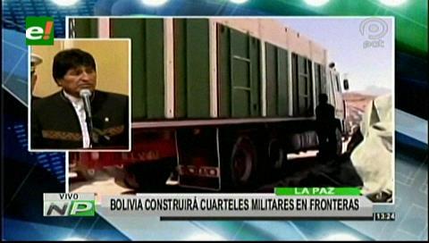 Construirán más cuarteles en las fronteras para frenar el contrabando