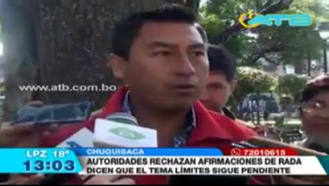 Chuquisaca lamenta las contradicciones del Gobierno sobre Incahuasi