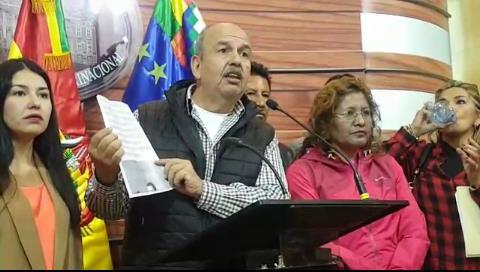 Murillo denuncia que el MAS busca frenar investigaciones por corrupción, hostigando a los testigos