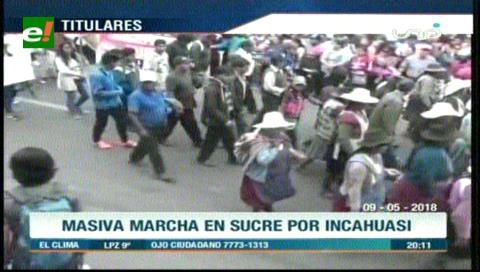 Video titulares de noticias de TV – Bolivia, noche del miércoles 9 de mayo de 2018