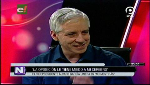 García Linera: «La oposición le tiene miedo a mi cerebro»