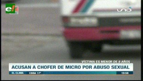 Detienen a chofer de micro por abuso sexual