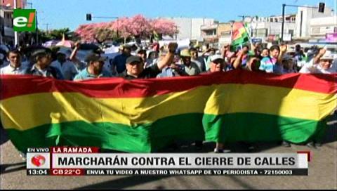 Gremiales de La Ramada marcharán el miércoles contra el cierre de las calles