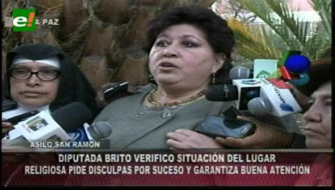 Diputada destaca condiciones del asilo San Ramón y considera que agresión a un anciano fue un hecho aislado