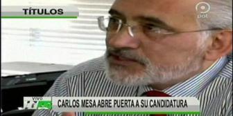 Video titulares de noticias de TV – Bolivia, mediodía del jueves 24 de mayo de 2018