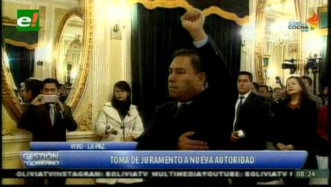 Rodolfo Rocabado es posesionado como nuevo Ministro de Salud (actualizada)