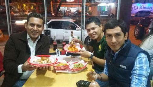 Vidal Dorado y Rober Ruiz