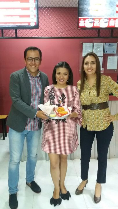 Alejandro Bleichner, Carolina Noya e Ingrid Hurtado