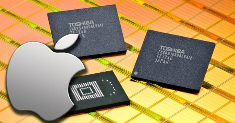 Memoria Flash Toshiba para iPhones