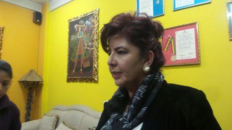 Paola Barriga, abogada que patrocina a la familia de Jonathan Quispe.