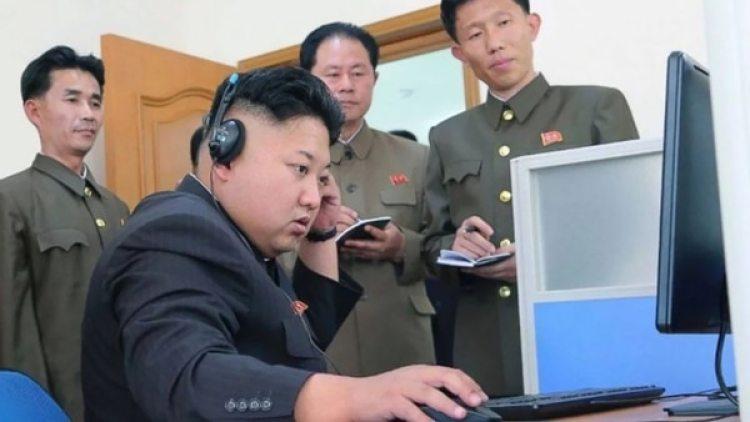 El dictador de Corea del Norte Kim Jong-un.