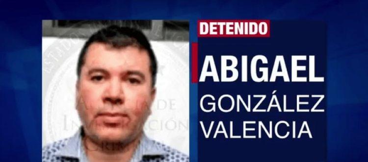 """Abigael González Valencia fue en su momento el líder de los """"Cuinis"""", antes de ser detenido."""