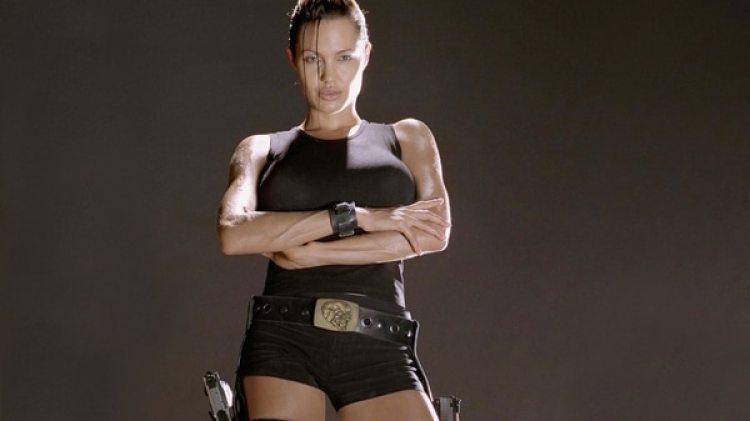 Angelina Jolie interpretó a Lara Croft en la película Lara Croft: Tomb Raider en el 2001