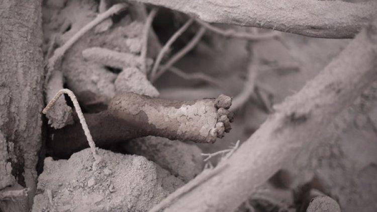 Al menos dos aldeas quedaron enterradas (AFP)