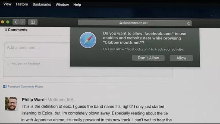 Safari avisará al usuario cuando sus datos vayan a ser rastreados para que éste decida seguir adelante o no