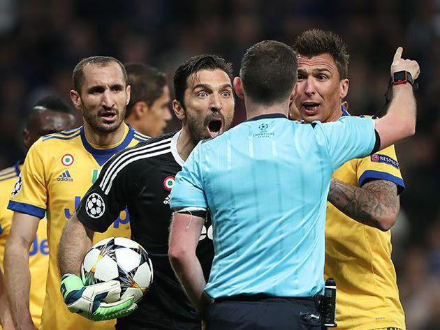 La sanción de la UEFA a Buffon por el partido ante Real Madrid