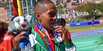 Cuatro atletas logran medallas para Bolivia a puro corazón