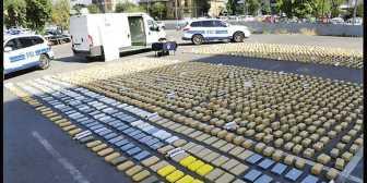 """Cae """"pez gordo"""" boliviano con 1.5 toneladas de droga en Chile"""