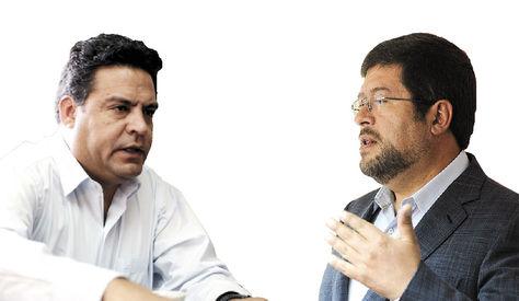 Luis Revilla y Samuel Doria Medina