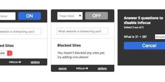 Infocus, una extensión para bloquear los sitios web que nos distraen