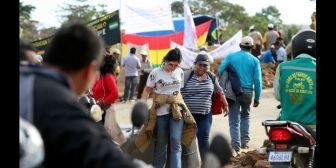 Gobernación convoca a Amdecruz a dialogar y pide el cese de bloqueos