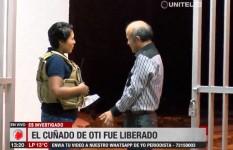 El cuñado de 'Oti' fue liberado pero será investigado por supuestas extorsiones