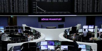 Caen las bolsas europeas en medio de la incertidumbre y las tensiones de la guerra comercial