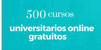500 cursos universitarios, online y gratuitos que inician en julio