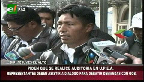 El Alto: Vecinos de los distritos 4, 7 y 14 piden auditoría a la UPEA