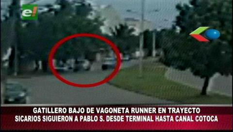 Sicario bajó de una vagoneta y se subió a una moto antes de asesinar a Pablo Suárez