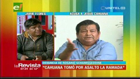 """Jaime Flores: «Cahuana y Lavardenz tomaron por asalto el mercado La Ramada"""""""