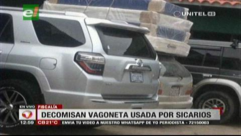 Fiscalía secuestra vagoneta utilizada por los supuestos asesinos de Pablo Suárez