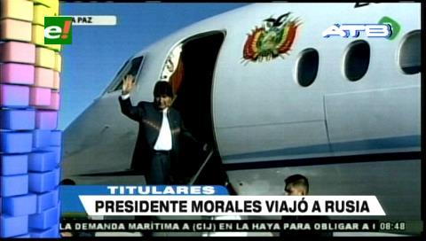 Video titulares de noticias de TV – Bolivia, mediodía del martes 12 de junio de 2018