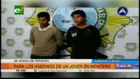 Fiscalía logra sentencia de 30 años de cárcel para asesinos de joven en Montero