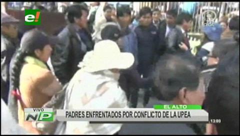 Padres anuncian movilizaciones por la UPEA