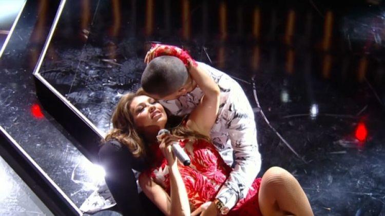 """Maluma cumplió su sueño de niño cuando grabó el tema """"Desde esa noche"""", con Thalía"""