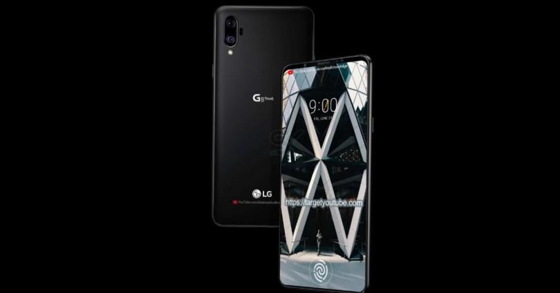 Imagen conceptual del LG G8 ThinQ