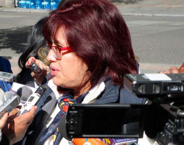 IVETTE ESPINOZA, ENTONCES DIRECTORA DE ASFI, DISPUSO LA INTERVENCIÓN DE EX-MUTUAL LA PAZ.