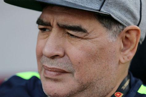El exfutbolista argentino, Diego Armando Maradona. Foto: Archivo EFE