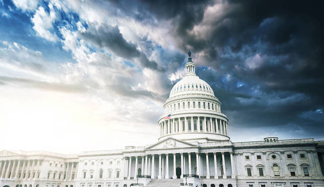 Capitol Hill, sede de la presidencia de EEUU, actualmente habitada por la administración Trump. (iStock)