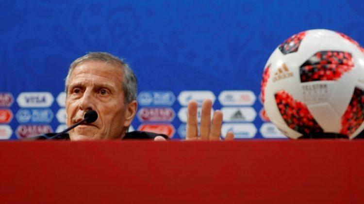 Tabárez ultima detalles antes del trascendental duelo contra Francia (Reuters)