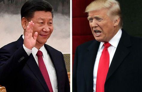 Xi Jinping (izq.) y Donald Trump, los líderes de China y EEUU respectivamente
