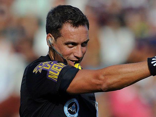 Fernando Rapallini será el árbitro del amistoso entre Olimpia y Bolívar en Buenos Aires