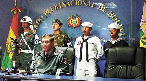 Autoridad. Mojica explica los alcances del reclutamiento de este año.