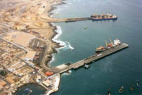 Puerto de Ilo en Perú. Foto:ASP-B